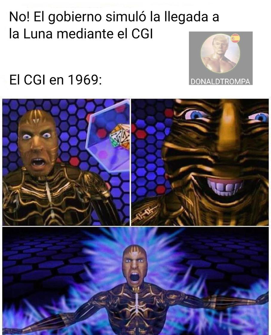 El CGI significa Computer Generated Images - meme