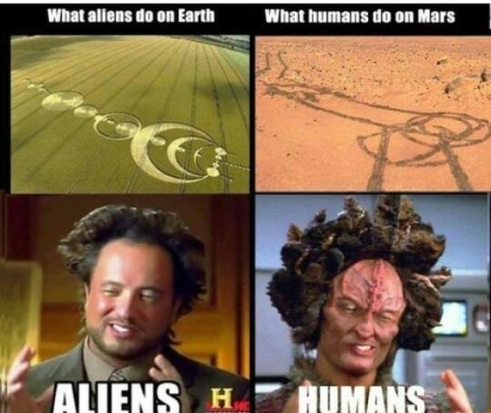 just humans... - meme