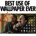 Best use of a wallpaper