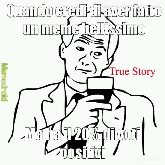 A sad story - meme