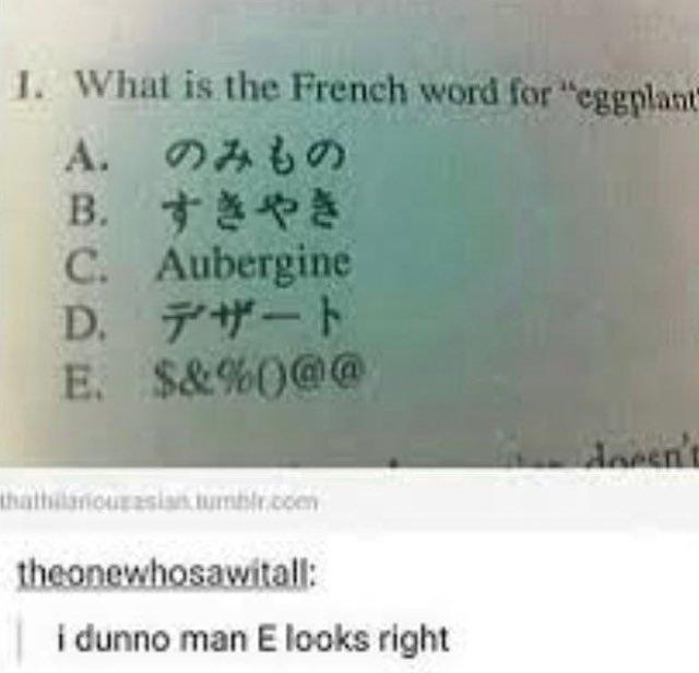 $&%0@@ est la bonne réponse (trad en tags) - meme