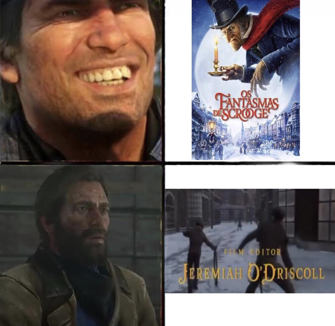 Maldito O'Driscoll - meme