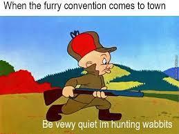 furry war - meme