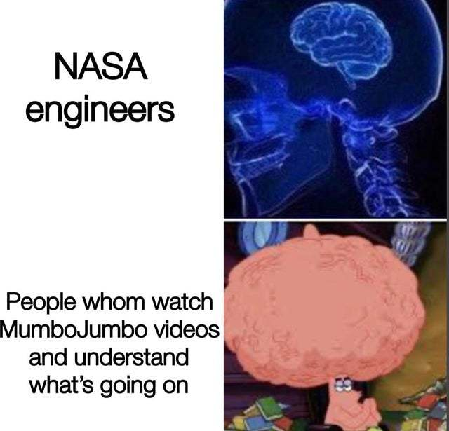 NASA engineers vs the people - meme