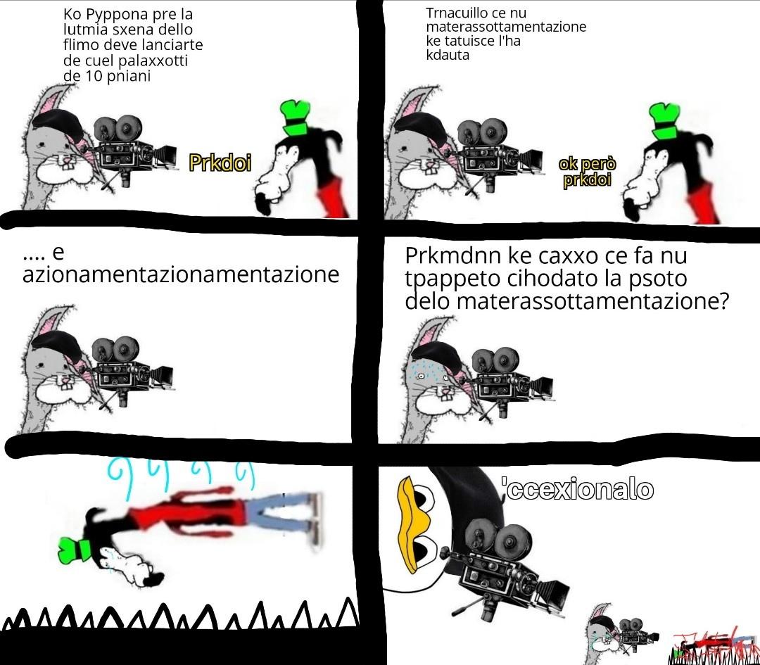 Per gli appassionati di rapepino - meme