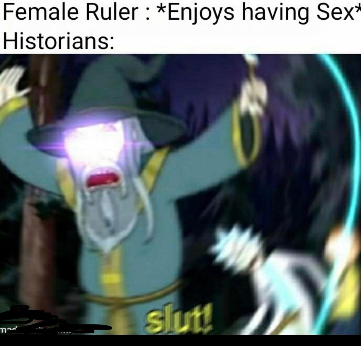 S L U T - meme