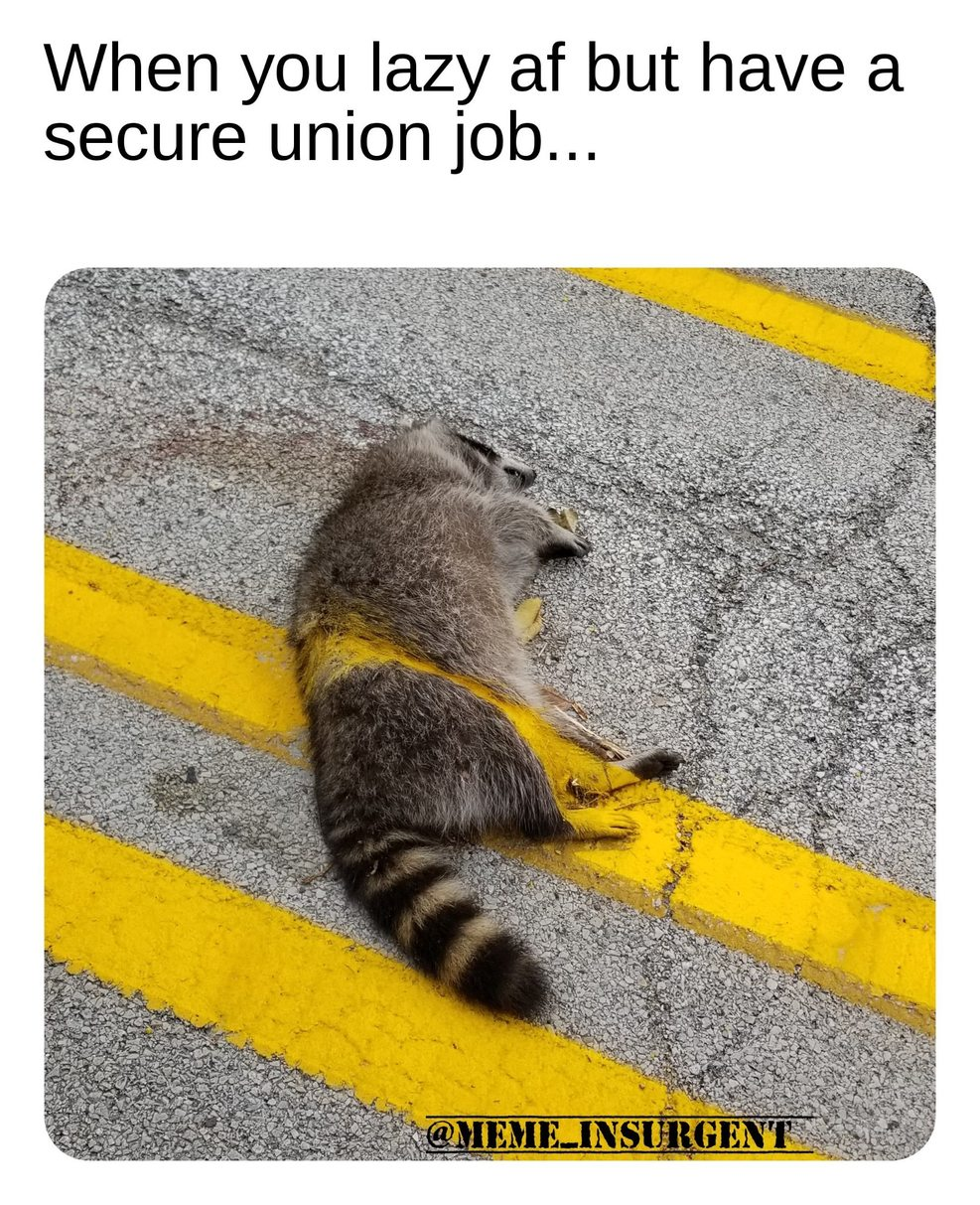 Union Job! - meme