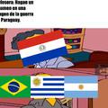 Como Paraguay dejó de existir en simples palabras.