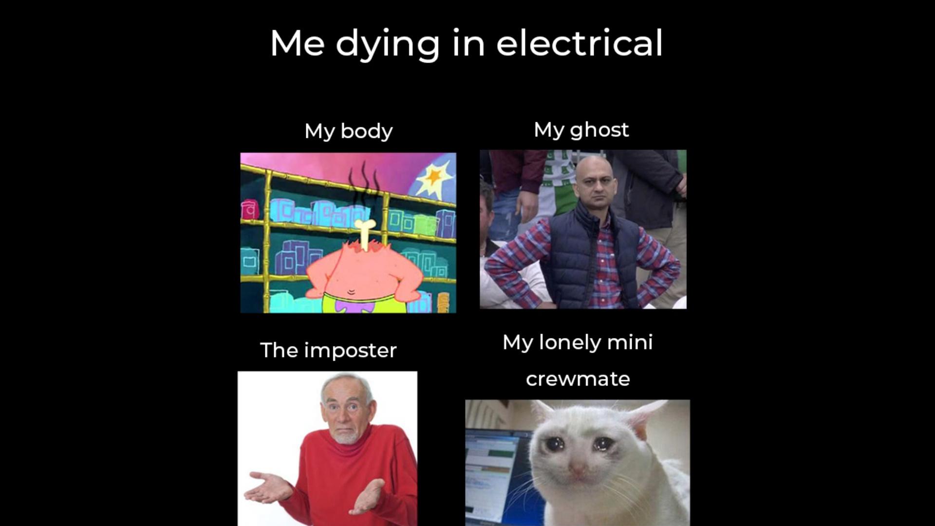 Electrical pire endroit du monde - meme