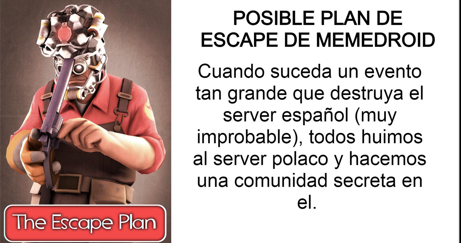 Esto no es un momo es un plan por si hay una invasión enorme o algo así, como probablemente de un Streamer enorme - meme