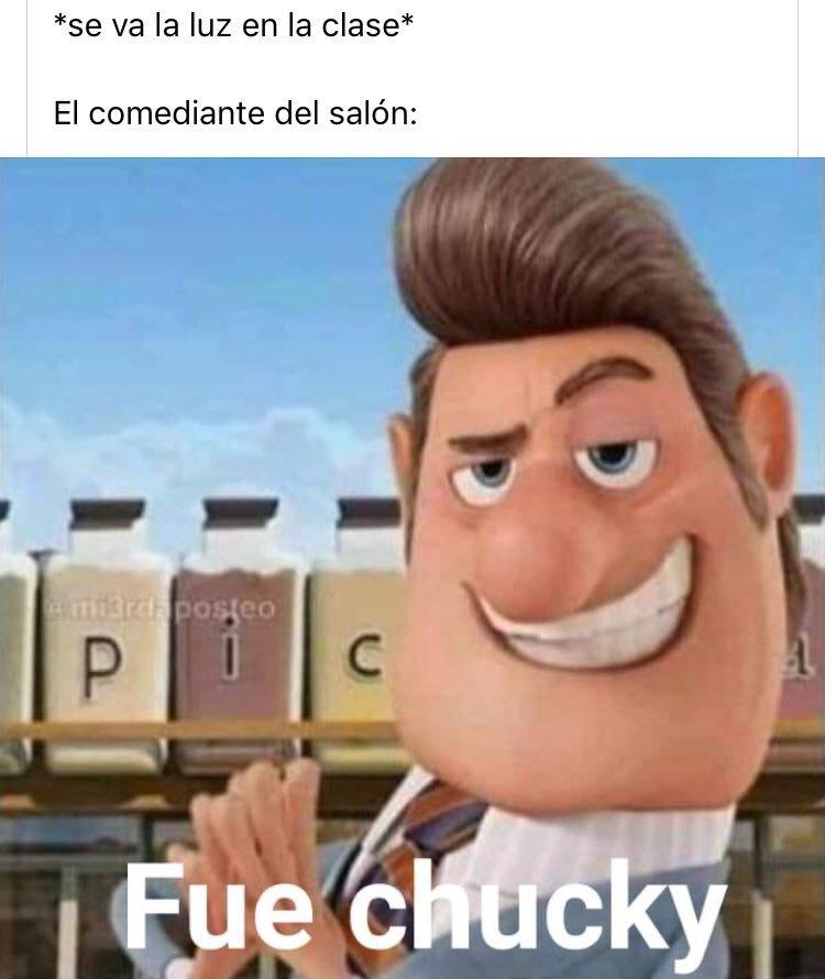 fue chuky B) - meme