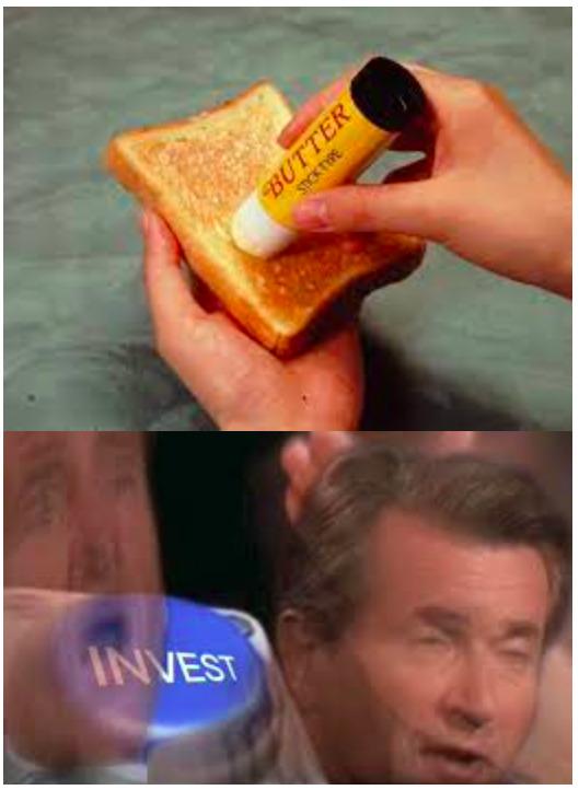 Butter Stick - meme
