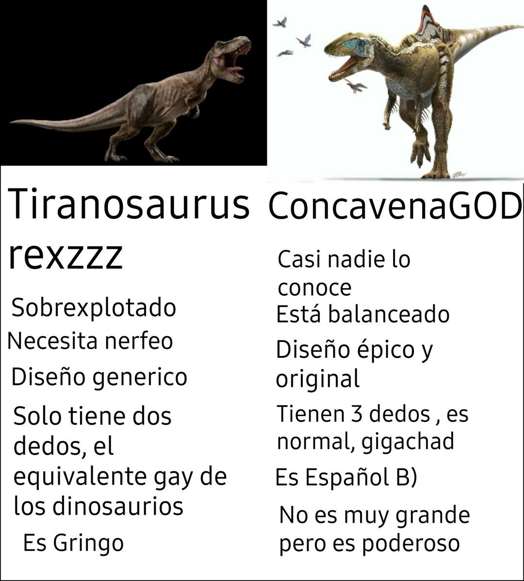 Concavenator = :gigachad: - meme