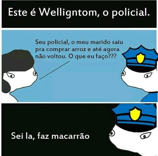 Boa Wellington - meme
