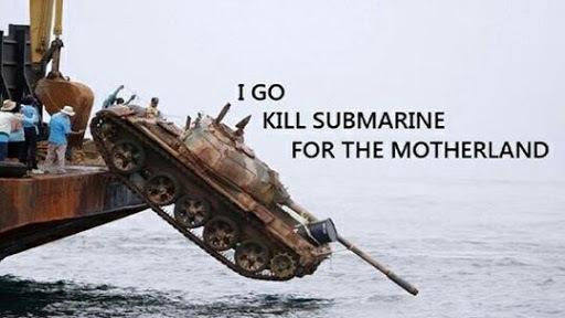 When the Navy is broke - meme