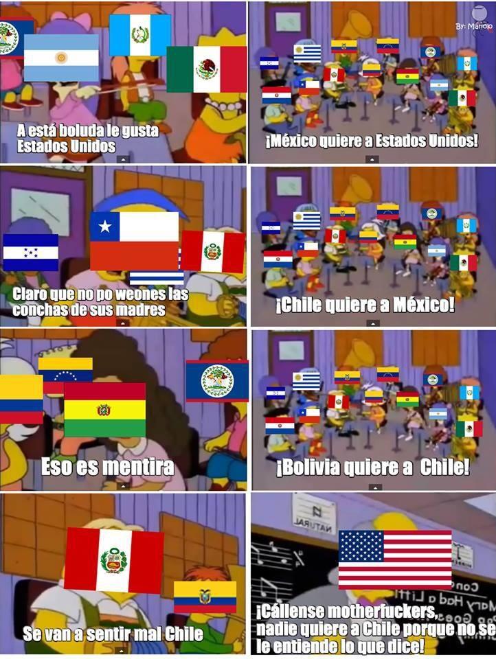rianse del meme y disfrutenlo(soy chileno y me da risa)