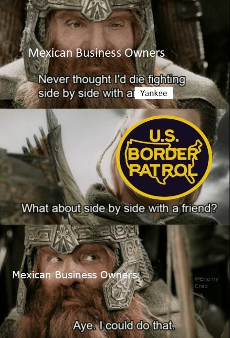 Tijuana Protest - meme