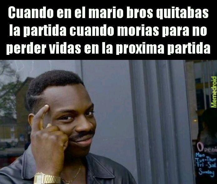 Mario cbron - meme