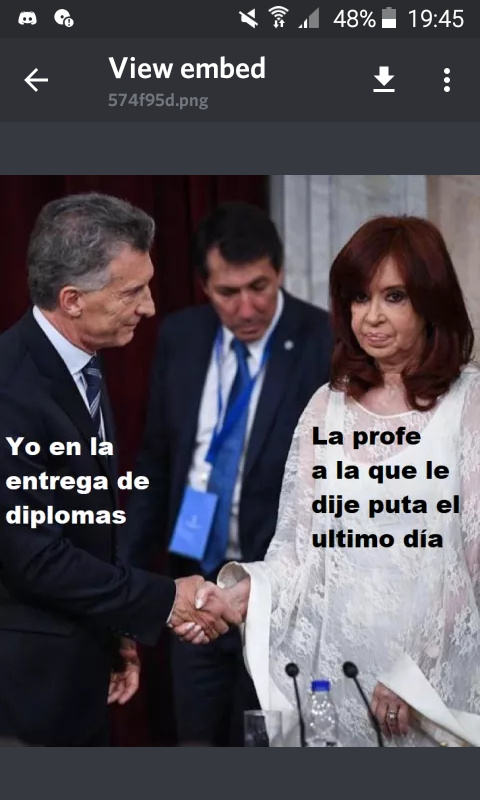 Macri is love, macri is life - meme