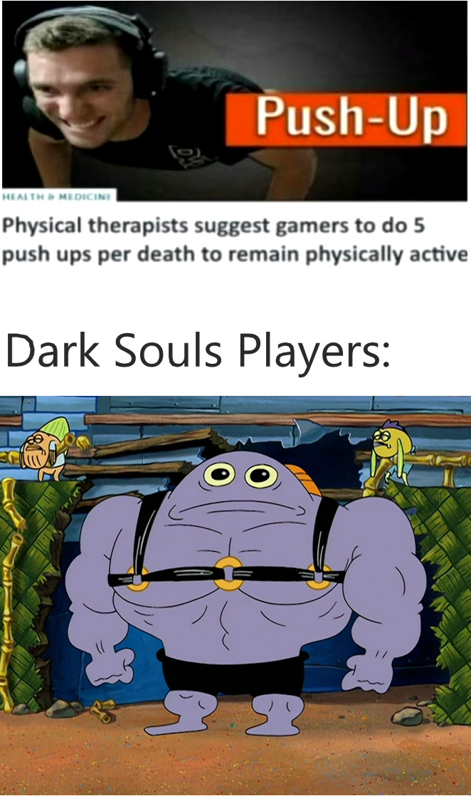 (insert dark souls themed name) - meme