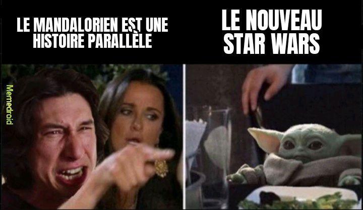 Le nouveau star wars - meme
