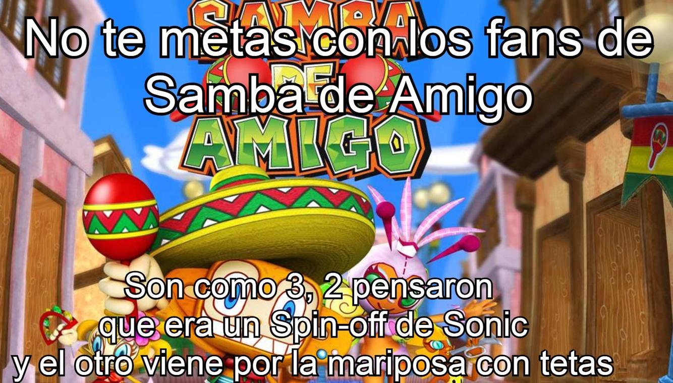 Ese juego era un crossover de México y Brasil - meme