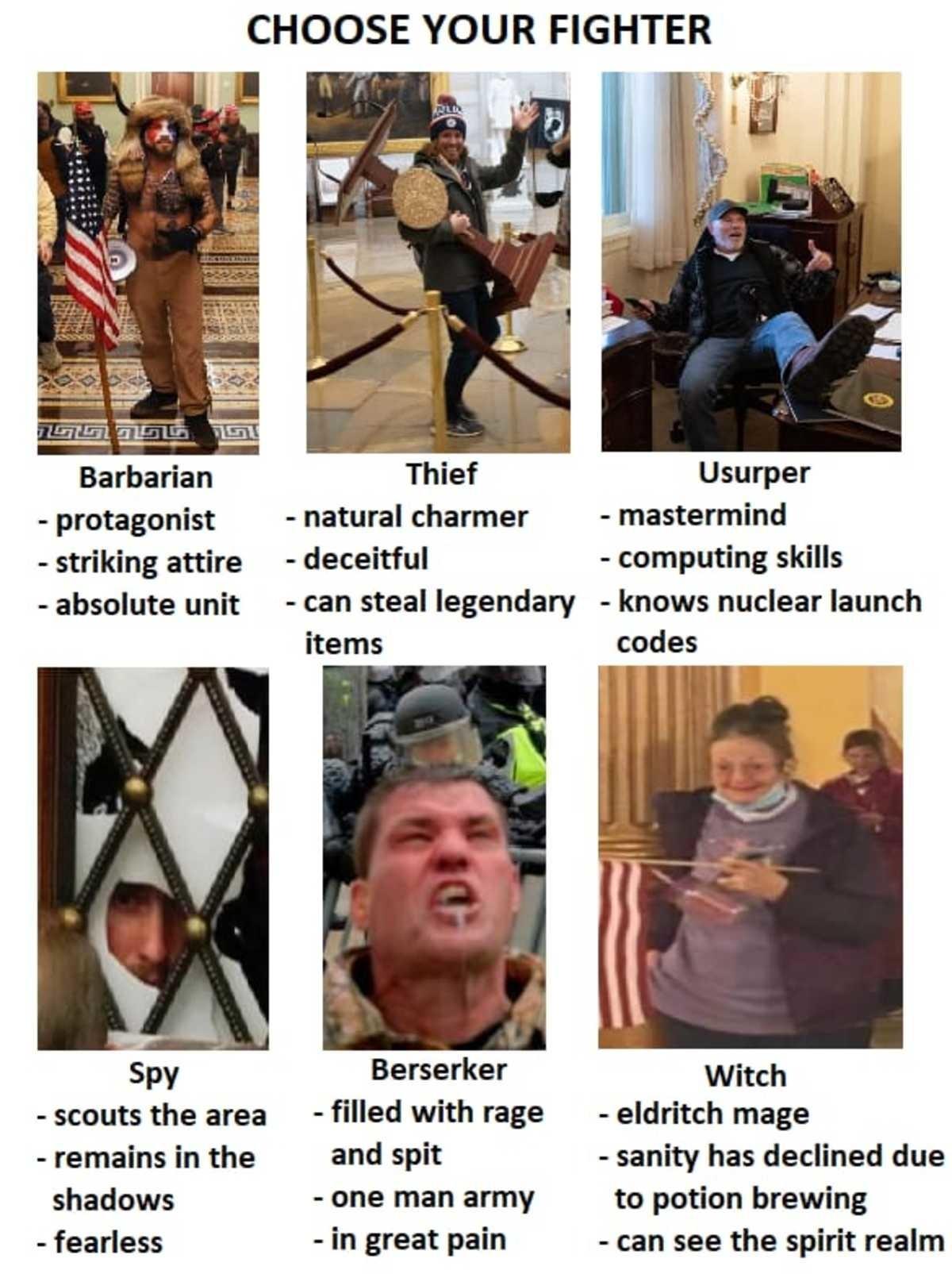 Choose your fighter - meme
