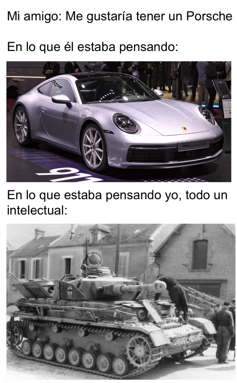 Panzerkampfwagen - meme