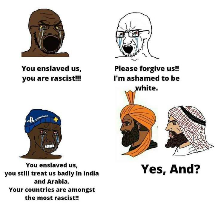 Slavery - meme