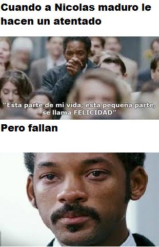 Atentado a Nicolas Maduro - meme