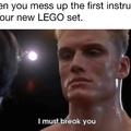 Rip lego