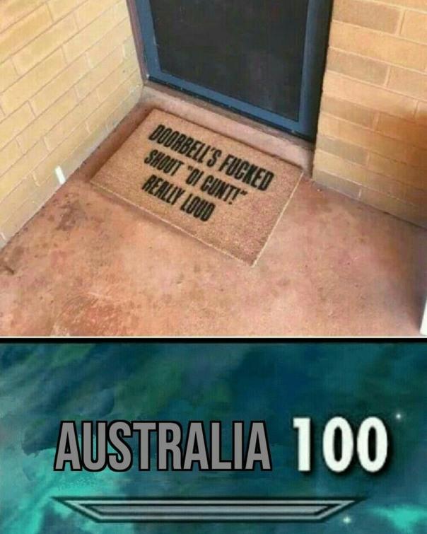 Australia Lvl: 10000 - meme