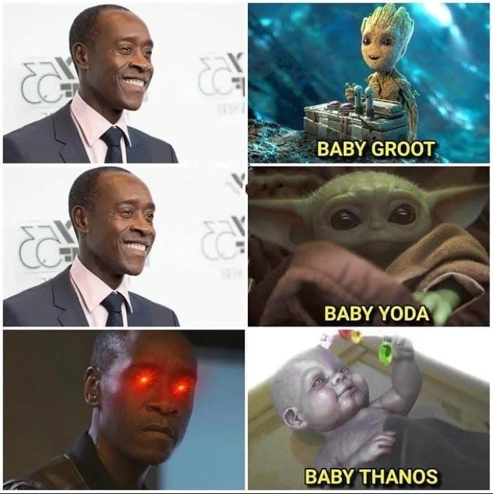 El baby - meme
