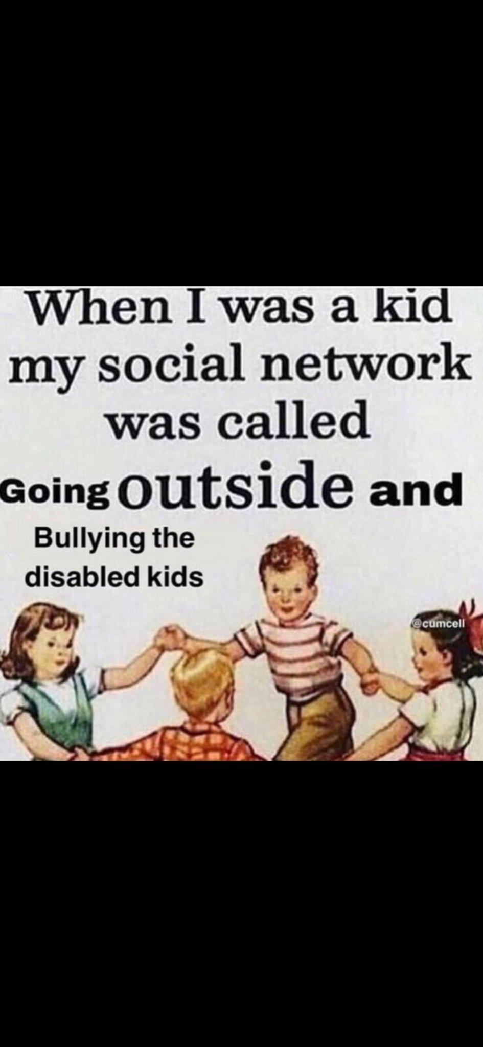 Old networks - meme
