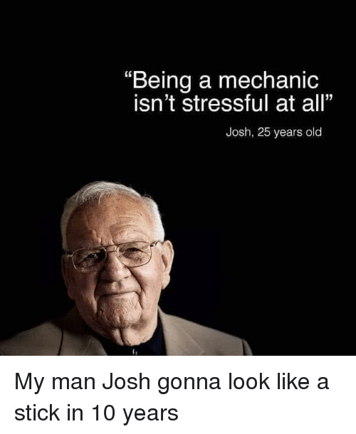 Not STRESSFUL AT ALL - meme