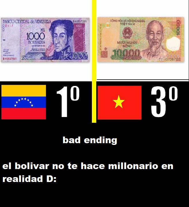 contexto:  en realidad es unos de los billetes más baratos del mundo - meme