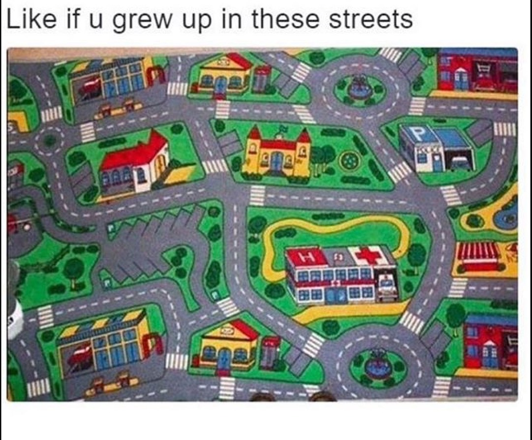the real streets - meme