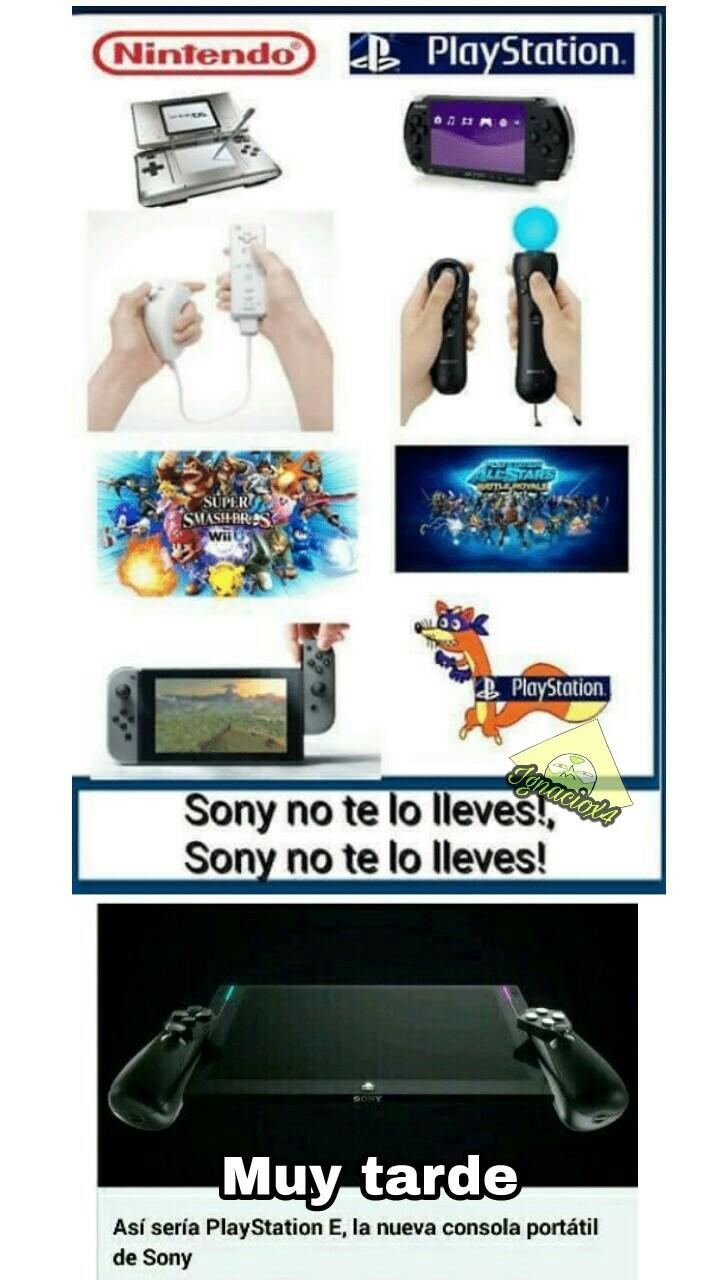 Sony es como Memedroid :/