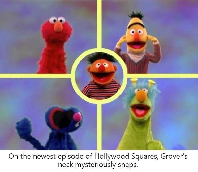 Grover is no more - meme