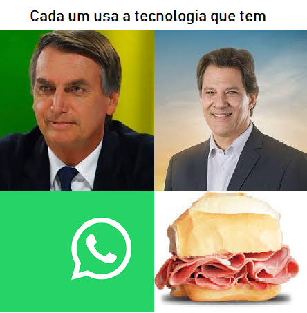 Brasil e o seu jeito particular de fazer politica - meme
