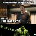 One Kyle to rule them all