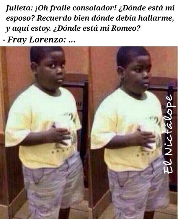 Romeo y Julieta - meme