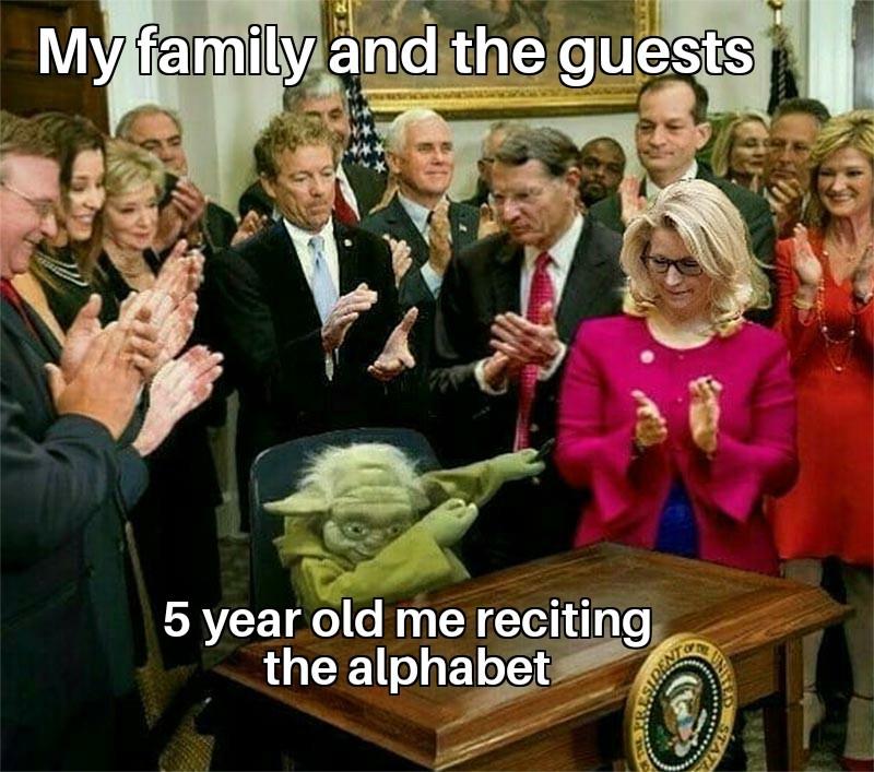 5 year old me - meme