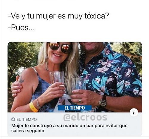 reacion tóxica - meme