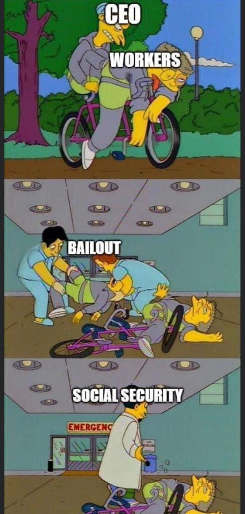 bailout - meme