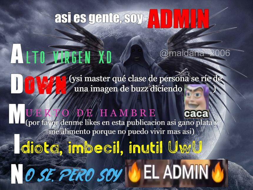 ASIES, SOY ADMIN - meme