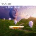Perfume ads....