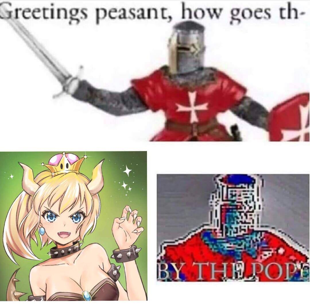 BY THE POPE - meme