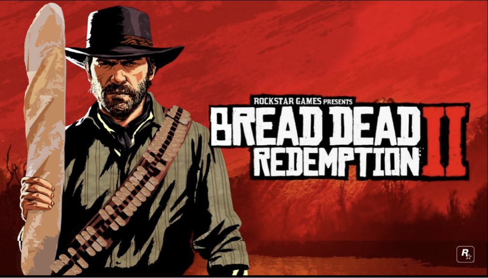 Bread Dead Redemption - meme