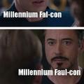 Falcon or Faul-con?